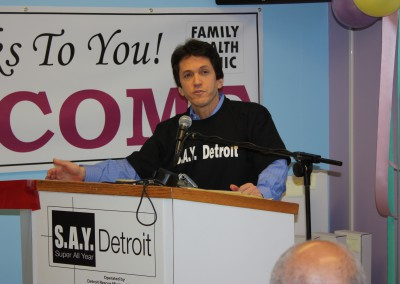 Albom Charity Funds S.A.Y. Detroit Family Health Clinic 1