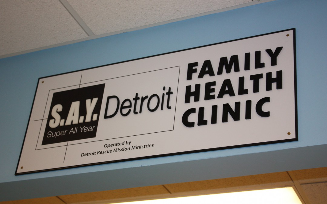 S.A.Y. Detroit Clinic to Provide Services to Dignity House