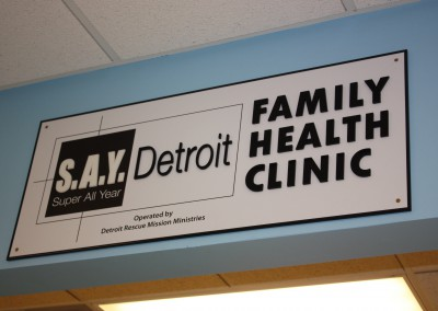 Albom Charity Funds S.A.Y. Detroit Family Health Clinic 4
