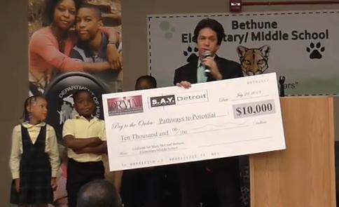 S.A.Y. Detroit Pays Special Visit to Bethune
