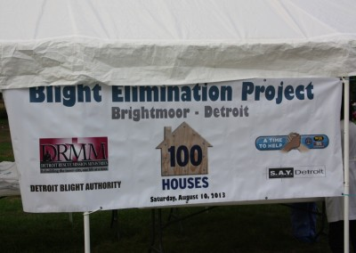 100 Houses Beautifies Brightmoor 3