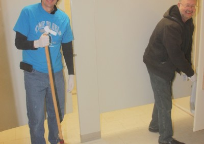Fall Cleaning at Mercy Center 2