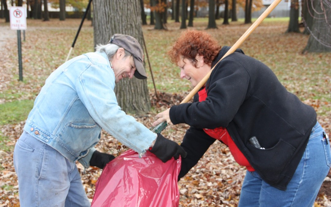 Fall Cleaning at Mercy Center