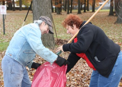 Fall Cleaning at Mercy Center 8