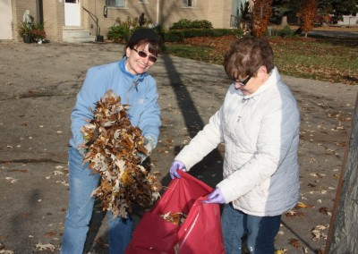 Fall Cleaning at Mercy Center 14