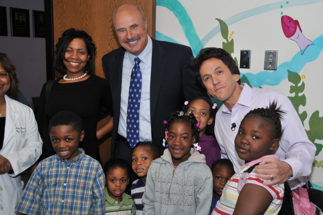 Dr. Phil Visits the S.A.Y. Detroit Clinic