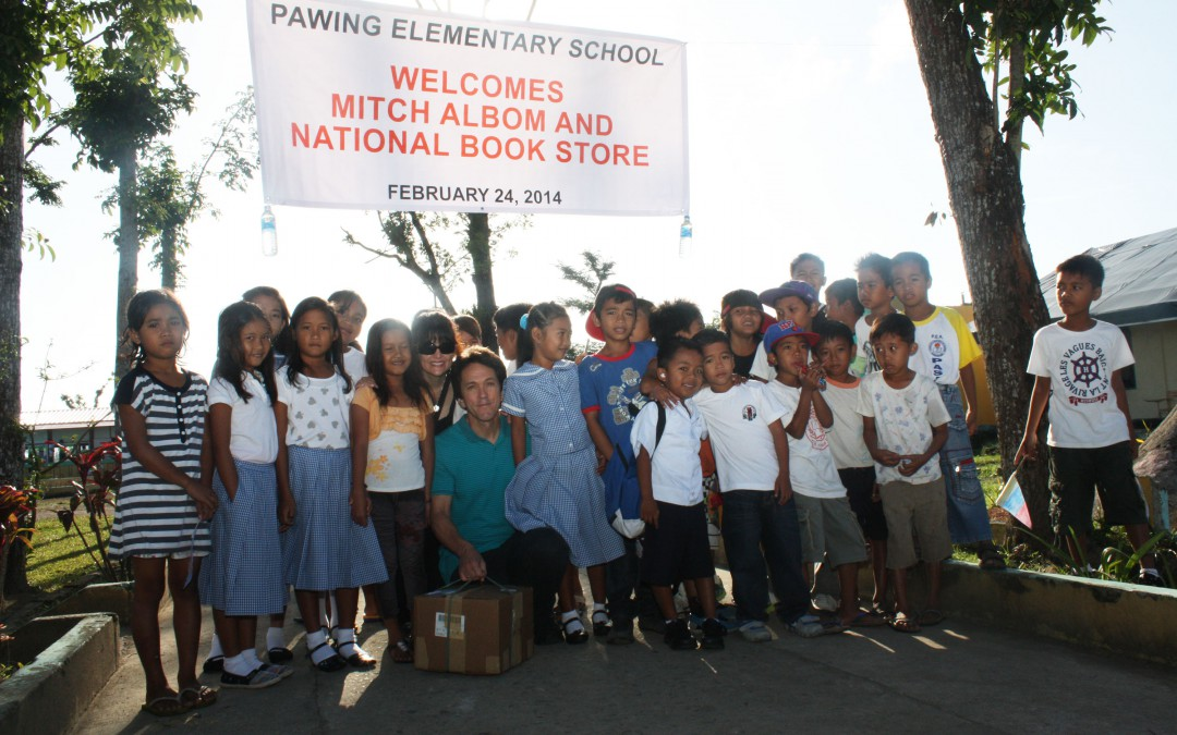 'D.R.Y.' Launches to Rebuild Libraries after Typhoon Yolanda