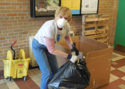 Community Center Clean Up 10