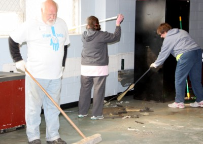 Community Center Clean Up 11