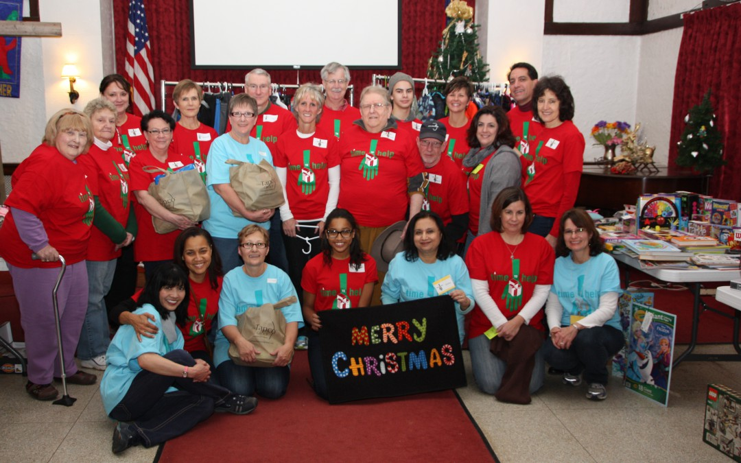 Holiday Party for Denby Shelter a Hit