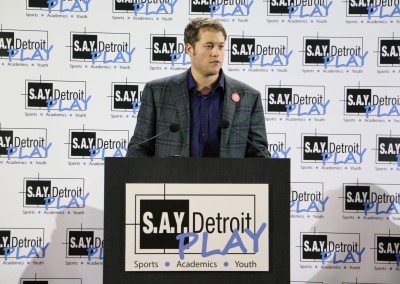 Plans for S.A.Y. Detroit Play Center Announced 12