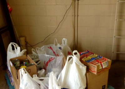 Packing Up Pounds for Hope Center 1