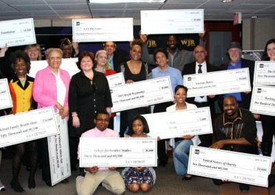S.A.Y. Detroit Distributes Radiothon Funds 1