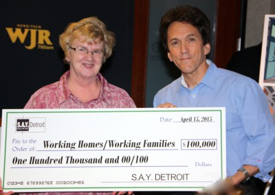 S.A.Y. Detroit Distributes Radiothon Funds 3