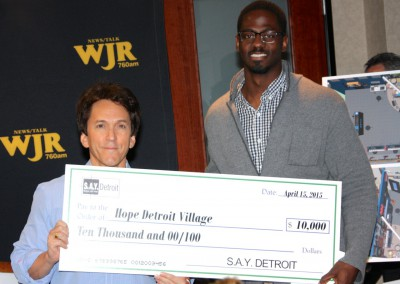 S.A.Y. Detroit Distributes Radiothon Funds 4