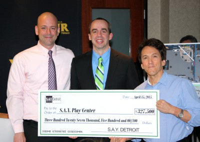 S.A.Y. Detroit Distributes Radiothon Funds 5