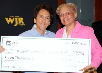 S.A.Y. Detroit Distributes Radiothon Funds 6