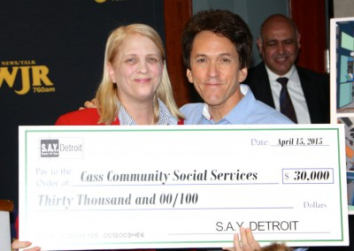 S.A.Y. Detroit Distributes Radiothon Funds 7