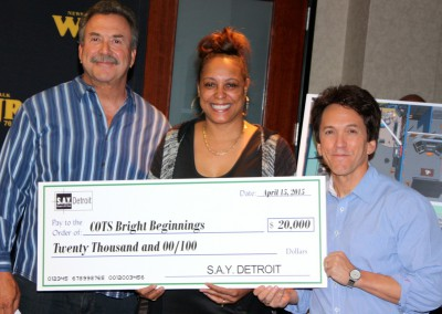 S.A.Y. Detroit Distributes Radiothon Funds 9