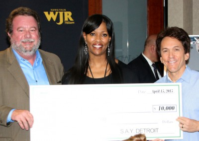 S.A.Y. Detroit Distributes Radiothon Funds 10