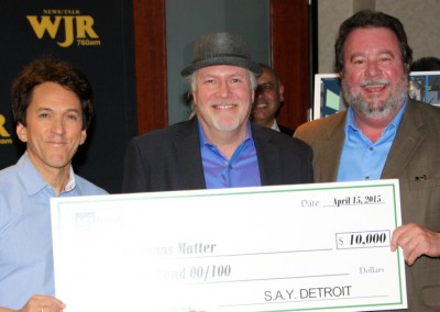 S.A.Y. Detroit Distributes Radiothon Funds 18