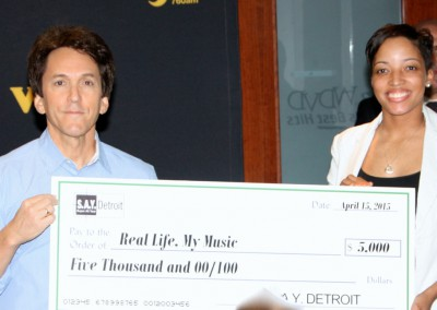 S.A.Y. Detroit Distributes Radiothon Funds 12