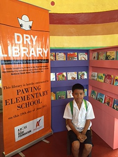 First D.R.Y. Library Opens in the Philippines