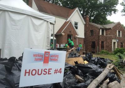 Working Homes, Families Builds a Neighborhood 4
