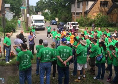 Working Homes, Families Builds a Neighborhood 5