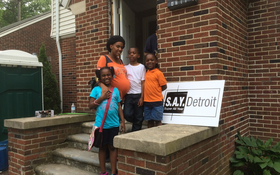 Working Homes, Families Builds a Neighborhood