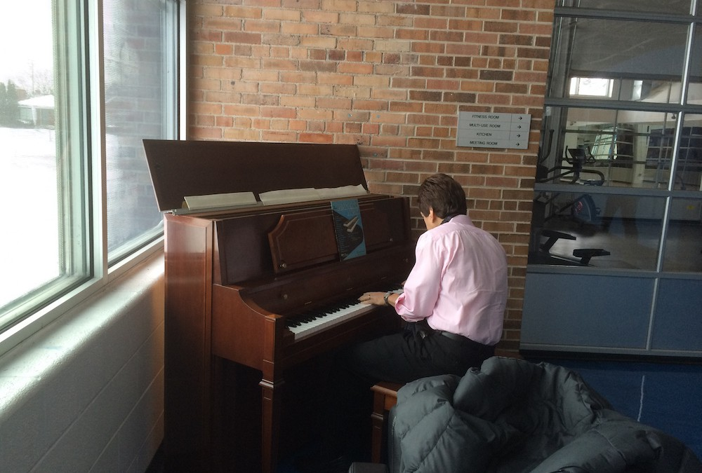 New Piano at SAY Play