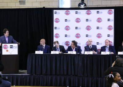 S.A.Y. Detroit Play Center teams up with Pistons 2