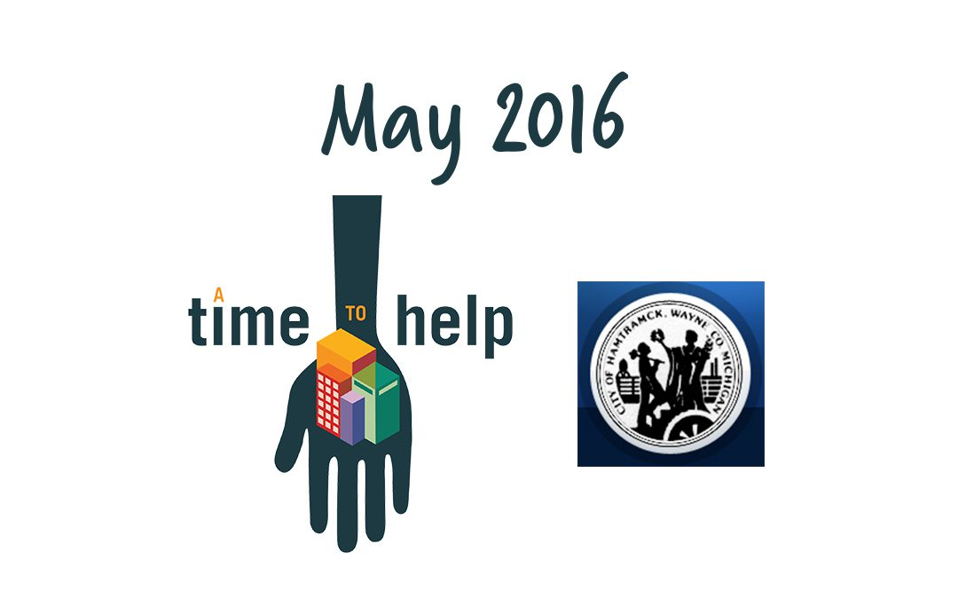A Time to Help May 2016: Hamtramck Beautification