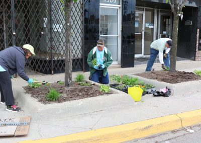 A Time to Help Beautifies Park & Planters in Hamtramck 4