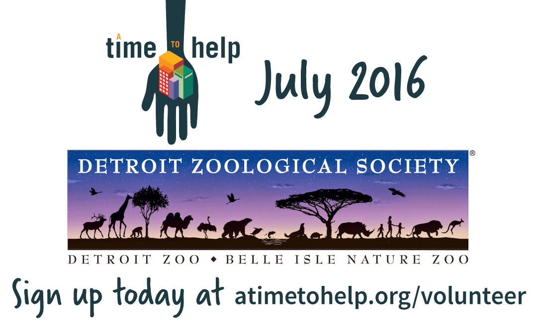 A Time to Help July 2016: Detroit Zoo Landscaping