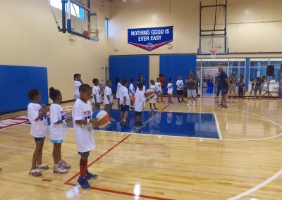 Saturday's Pistons Clinic a Huge Hit! 6