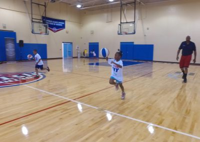 Saturday's Pistons Clinic a Huge Hit! 7