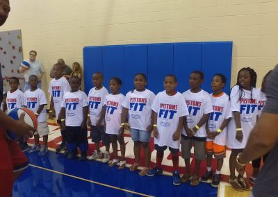 Saturday's Pistons Clinic a Huge Hit! 5