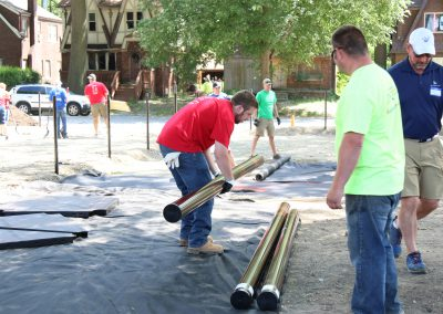 Working Homes Working Families Transforms Vacant Lot to Community Park 9