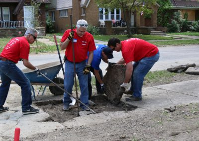 Working Homes Working Families Transforms Vacant Lot to Community Park 15