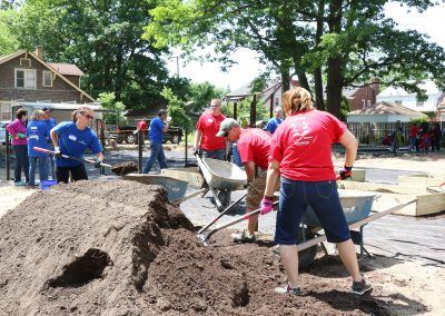 Working Homes Working Families Transforms Vacant Lot to Community Park 16