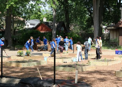 Working Homes Working Families Transforms Vacant Lot to Community Park 24