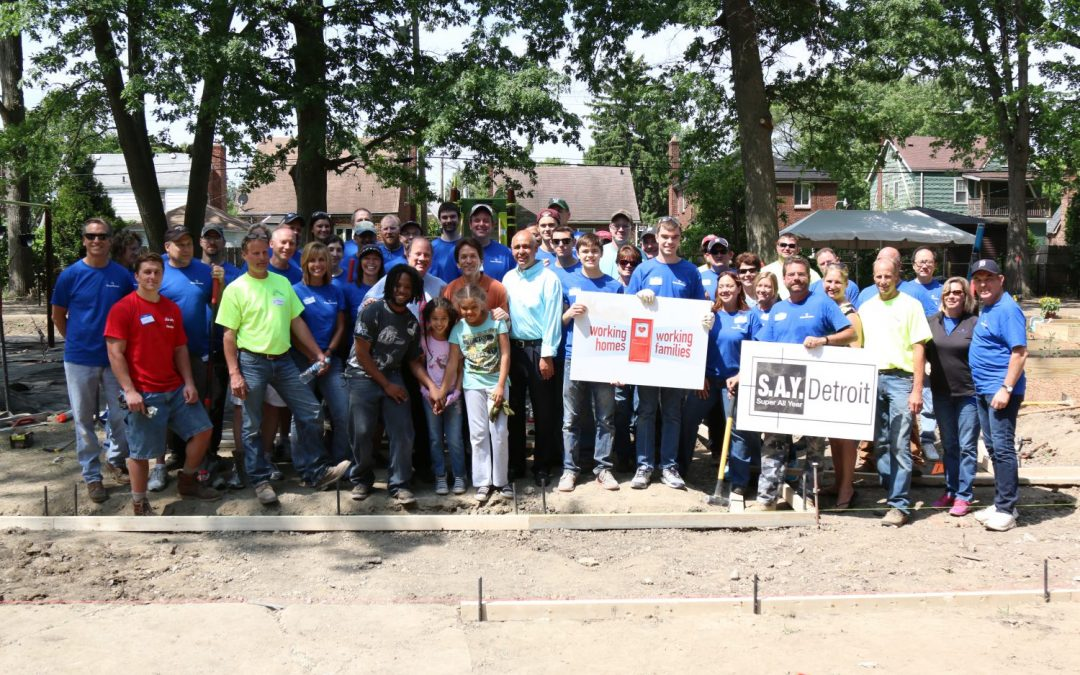 Working Homes Working Families Transforms Vacant Lot to Community Park