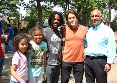 Working Homes Working Families Transforms Vacant Lot to Community Park 30