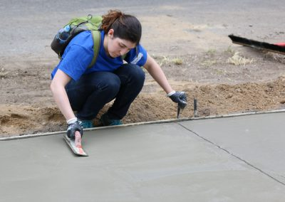 Working Homes Working Families Transforms Vacant Lot to Community Park 34
