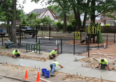 Working Homes Working Families Transforms Vacant Lot to Community Park 37