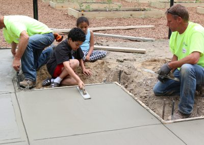 Working Homes Working Families Transforms Vacant Lot to Community Park 35