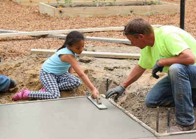 Working Homes Working Families Transforms Vacant Lot to Community Park 36