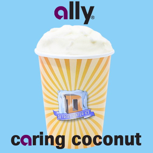 "Ally and The Detroit Water Ice Factory Launch ""Ally Caring Coconut"" Flavor"