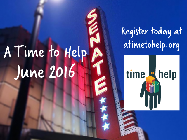A Time to Help June 2016: Senate Theatre